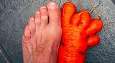 Pé de cenoura