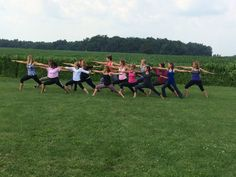 Yahweh Yoga/Living Waters  Teacher Training @ the farm.