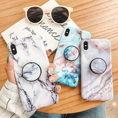 Marble Phone Case For iPhone X 7 8 6 6 S Plus Soft Silicone Grip Ho – elegantonlinemarket Phone Cases Marble, Marble Case, Iphone Phone Cases, Phone Cover, Iphone 8 Plus, Iphone 11, Mobiles, Cracked Marbles, Parisian Girl