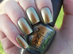 Lissa's Polish Addiction: NOTD: OPI - Just Spotted the Lizard!