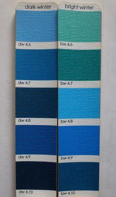 http://seasonalcolor.yuku.com/topic/1840 DW vs BW   Blues / Green
