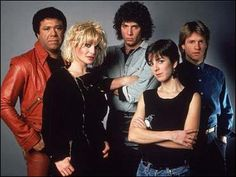 The original MTV VJs. Love how badass they're trying to be. #80s #TV #music