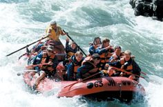 Snake River in Jackson Hole Wyoming.  River rafting - So fun, need to do this again.