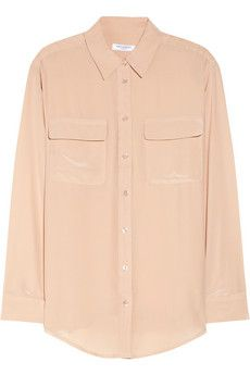 From Dress the Part: HBO's The Newsroom  Equipment Signature washed-silk shirt, $208