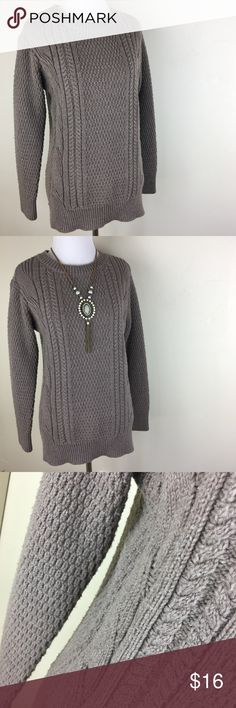GAP brown ribbed knitted long sleeve long sweater Preloved. Size small (but I think it could fit a size medium, too). Priced to sell as there is some piling throughout the sweater (but still so much life left)! GAP brown ribbed knitted long sleeve long sweater. GAP Sweaters