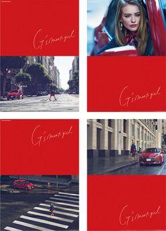 AQUAのスポーツバージョンG'sAQUAの女性向け広告です。LAの街を封鎖して放水車で道をウェットダウンしてからの撮影は壮観でした。