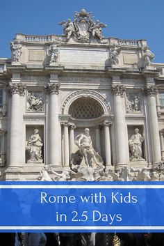 Rome with Kids in 2.5 Days - An Outline of what to see and do as well as tips for making the most of a short family visit to Rome, Italy | Gone with the Family