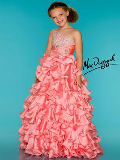 Oh cripes!  Must NOT let my 10 yr old know we'll be passing close to a place that sells dresses like this for children!