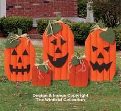 Landscape Timber Pumpkins Plan