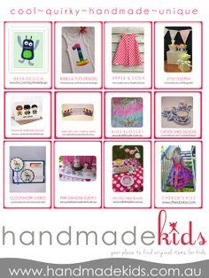 In the Press- Handmade Kids Collaborative Ad