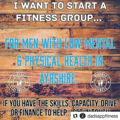 #Repost @dadsappfitness  Would you like to attend?  Can you help make this idea a reality? . . .  If so Please comment tag a mate DM me re-post this post or tell a mate. . . . #followme #onmyjourney to #dadsappfitness #health #fitness #fit  #fitnessaddict #fitspo #workout #bodybuilding #cardio #gym #train #training #health #instahealth #healthychoices #active #strong #motivation #instagood  #lifestyle  #getfit #eatclean #exercise #mentalhealth #ayrshire #scotland