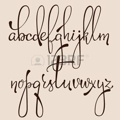 black and white hand lettering alphabet design, handwritten brush script modern calligraphy cursive font vector illustration - buy this stock vector on Shutterstock & find other images. Hand Lettering Alphabet, Doodle Lettering, Brush Lettering, Typography Fonts, Calligraphy Letters Alphabet, Font Styles Alphabet, Cute Fonts Alphabet, Doodle Fonts, Decorative Lettering