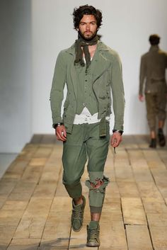 Greg Lauren Spring 2016 Menswear - Collection - Gallery - Style.com - Pants