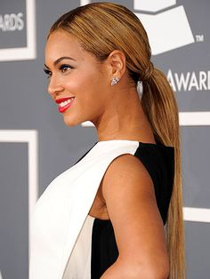A chic ponytail #Beyonce #SummerHairStyle #classic #inspiration #chic #