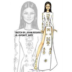 #ShareIG My fashion sketch of @kendalljenner
