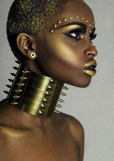 Golden goddess!  Tight!