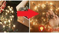 Zobrala obyčajné svetielka, ale nezavesila ich na balkón, ako zvyčajne: Čo vymyslela, premení váš domov na zimnú rozprávku, obzrie sa každý sused! Gift Wrapping, Gifts, Gift Wrapping Paper, Presents, Wrapping Gifts, Favors, Gift Packaging, Gift