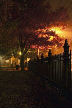 Salem, Halloween night.....Spooky! ;)