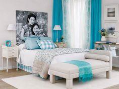 Fresh Girl Blue Bedroom Ideas