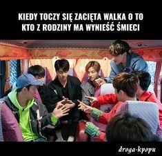 Może być śmiesznie albo życiowo. Znajdziecie tutaj kpopowe memy mojeg… #losowo # Losowo # amreading # books # wattpad Polish Memes, K Pop, Bts Memes, Nct, Humor, Funny, Humour, Funny Photos, Funny Parenting