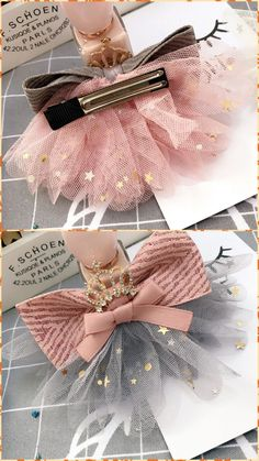 45 Pretty DIY Hair Accessories and Tutorials to Add Style to Kids Beauty Collection Making Hair Bows, Diy Hair Bows, Diy Bow, Ribbon Crafts, Ribbon Bows, Baby Bows, Baby Headbands, Hair Bow Tutorial, Kids Hair Accessories
