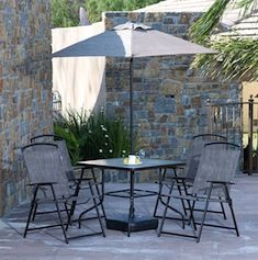 Patio ideas on pinterest rooftop patio costco and terrace for Sillas para jardin home depot