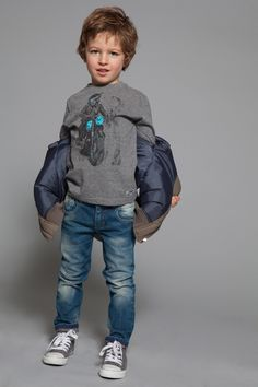 3pommes Boys Urban Jeans from Mini Ruby