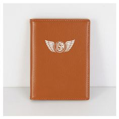 Soft Leather PASSPORT COVER - Brown from mozzin by DaWanda.com