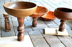 Fit bases de madeira em bacias de pedestal DIY H2OBungalow
