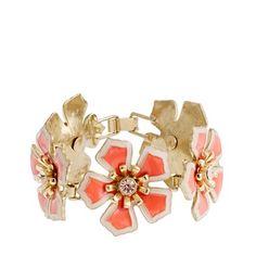 Flower patch bracelet. J. Crew. $68      $68.00