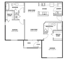 Unique Master Bedroom Layout with Walk In Closet