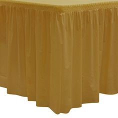Party Essentials Heavy Duty Plastic Table Skirt Available in 25 Colors 29 x 14 Metallic Gold >>> Check this awesome product by going to the link at the image. (This is an affiliate link)