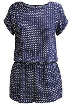 Bestill Sparkz DITTE - Jumpsuit - navy for kr med gratis frakt på Zalando. Short Sleeve Dresses, Dresses With Sleeves, Jumpsuit, Rompers, Navy, Fashion, Blouses, Catsuit, Moda