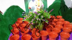 Plant a flower at a fabulous fairy party