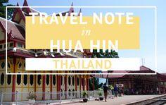 TRAVEL THAILAND HUA HIN