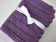 Baby Blanket Pattern for Beginners Crochet PDF PATTERN por KK13