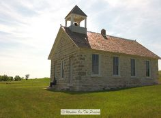 Church and One room schoolhouse
