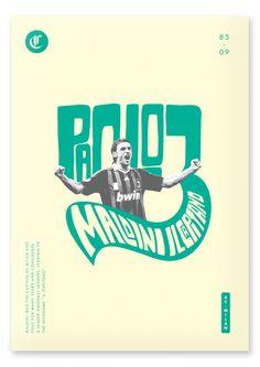 Paolo Maldini by Lasse Betzer