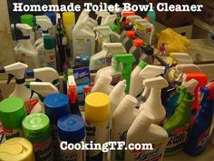 Dump the Toxins: Homemade Clinging Toilet Bowl Cleaner | Cooking Traditional Foods