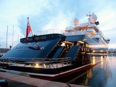 Lürssen Yachts - OCTOPUS 126m.   Yacht Network