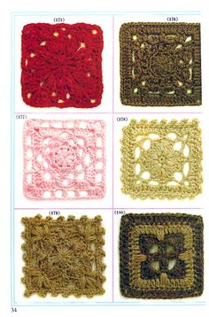 LOVE squares! Small enough to work quickly, versatile enough to make a variety of things!