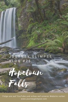 Im Vlog 26 pilgern wir in den Regenwald und besuchen die Hopetoun Falls. Journey, Den, Waterfall, Outdoor, Australia, National Forest, Viajes, Outdoors, Outdoor Living