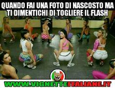 Quando fai una foto di nascosto ma ti dimentichi di togliere il flash :D (www.VignetteItaliane.it)