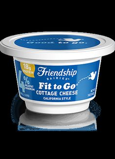"totally creamy friendship dairiesa""¢ cottage cheese is packed with"