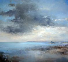 Evening Clouds Over Mounts Bay- Amanda Hoskin