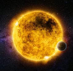X-rays emitted by a Sun-like star may provide valuable information about whether its planetary system will be hospitable to life, a new study suggests. Queen's University Belfast astronomer Rachel Booth and co-authors looked at 24 stars similar to the Sun, each at least one billion years old, and how their X-ray brightness changed over time. This artist's illustration depicts a two billion year old star called Gliese 176 (GJ 176), located 30 light-years from Earth, with the exoplanet Gliese…