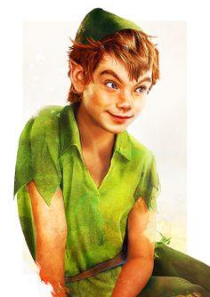 Peter Pan by Jirka Vinse