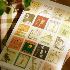Free shipping,2 sets 13*9cn DIY Scrapbook Paper Little Prince Stamps Stickers Decoration 013006007 #Affiliate