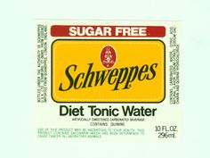 Diet Tonic Water, Carbonated Drinks, Sugar Free, Beverages, Bottle, Flask, Jars
