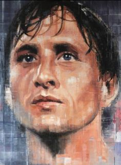 Afc Ajax, European Cup, Dutch Painters, Fc Barcelona, Football Players, Messi, Painting, Number 14, Celebrities